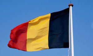 The Belgian flag … a standard for French tax avoiders everywhere.